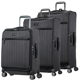 Samsonite Lite DLX Trolleys, eclipse grey, 4 Rollen