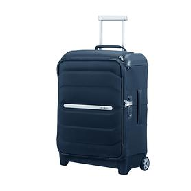 Samsonite Flux Soft, 55 cm, Trolley, navy blue, 2 Rollen, Kabinengepäck