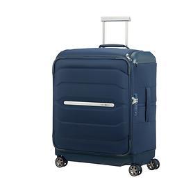 Samsonite Flux Soft, 56 cm, Trolley, navy blue, 4 Rollen, Kabinengepäck