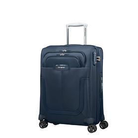 Samsonite Duosphere, 55 cm, Trolley, dark blue, 4 Rollen, Kabinengepäck, erweiterbar