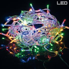 LED-Lichterkette bunt bunt indoor