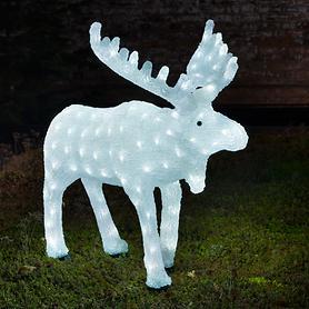 LED-Acrylfigur Elch