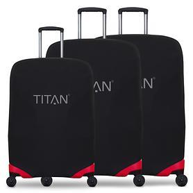 TITAN Luggage Cover, Kofferschutzhülle, schwarz