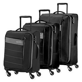 travelite Kite, Trolleys, schwarz, 4 Rollen