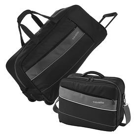 travelite Kite, Reisetasche und Bordtasche, schwarz