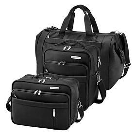 travelite Capri, Reisetaschen, schwarz