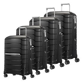 Samsonite Flux Trolleys, schwarz, 4 Rollen