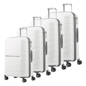 Samsonite Flux Trolleys, weiß, 4 Rollen