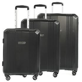 EPIC AirWAVE Trolleys, schwarz, 4 Rollen