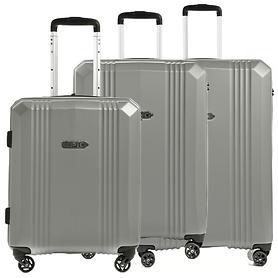 EPIC AirWAVE Trolleys, silber, 4 Rollen