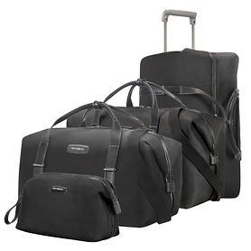 Samsonite Lite DLX SP, Reisetaschen & Toilet Kit, schwarz