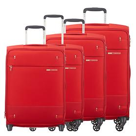 Samsonite Base Boost Trolleys rot 4 Rollen