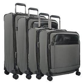 Samsonite Lite DLX SP Trolleys, 4 Rollen, grau