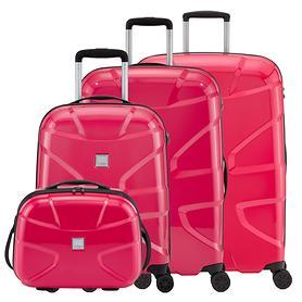 TITAN X2 Beautycase und Trolley mit 4 Rollen fresh pink