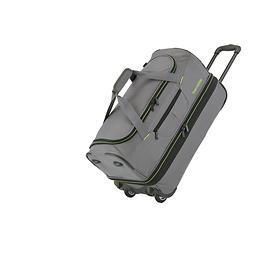 travelite Basics, 32/40 cm, Reisetasche, 2 Rollen, anthrazit, 2 Rollen,