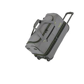 travelite Basics, 38/46 cm, Reisetasche, 2 Rollen, anthrazit, 2 Rollen,