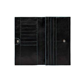 piquadro-blue-square-damengeldborse-mit-uberschlag-19-cm-schwarz-pd1855b2-n-