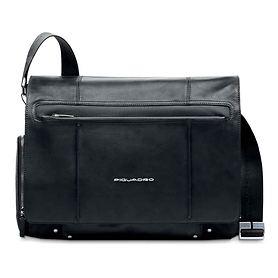 Piquadro Link, Laptoptasche, 45,5 cm, schwarz