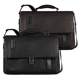 Piquadro Pulse, Laptoptaschen mit Überschlag, 41,5 cm