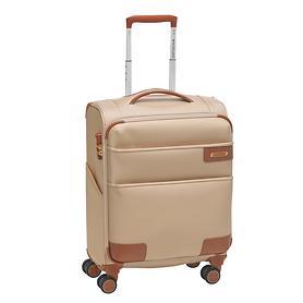 Roncato UNO Soft Deluxe, Trolley, 55 cm, champagne, 4 Rollen, Kabinengepäck