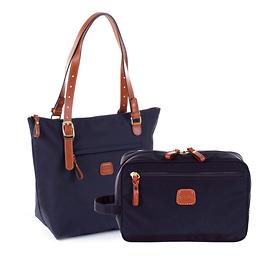 Bric's X-Bag X-Travel Kosmetik- und Handtasche ocean blue