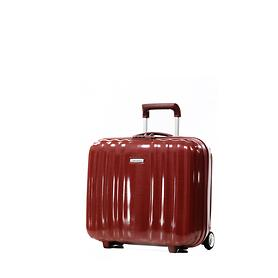Samsonite Cubelite Trolley dark red 2 Rollen