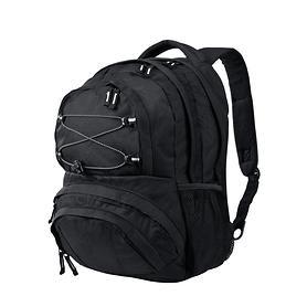 travelite Basics, 42 cm, Multifunktionsrucksack, schwarz