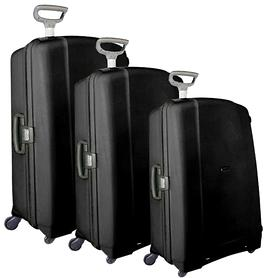 Samsonite Aeris Trolley schwarz 4 Rollen