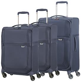 Samsonite Uplite Trolleys, blau, 4 Rollen