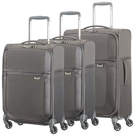 Samsonite Uplite Trolleys, grau, 4 Rollen