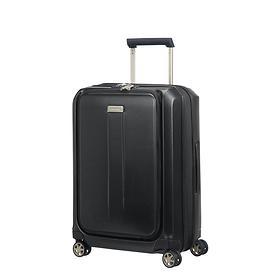 Samsonite Prodigy, 55 cm, Trolley, schwarz, 4 Rollen, Kabinengepäck, erweiterbar