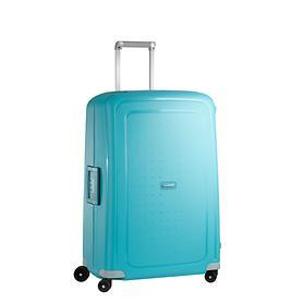 Samsonite S'Cure, 55 cm, Trolley, aqua blue, 4 Rollen, Kabinengepäck