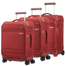 Samsonite Smarttop Trolleys, rot, 2 & 4 Rollen