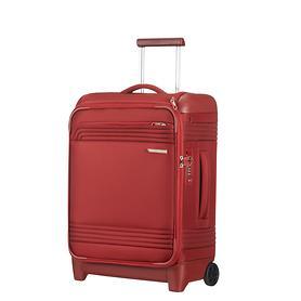 Samsonite Smarttop, 55 cm, Trolley, rot, 2 Rollen, Kabinengepäck