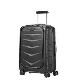 Samsonite Lite-Biz 55 cm, Trolley, schwarz, 4 Rollen, Kabinengepäck