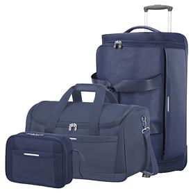 Samsonite Dynamo Reisetaschen, 2 R. & Toilet Kit, navy blue