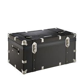 Ciak Roncato Vintage, 79 cm, Truhenkoffer, schwarz