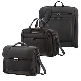 Samsonite Pro-DLX 4 Aktentaschen und Kleidersack schwarz