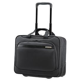 Samsonite Vectura, 36 cm, Office Case, schwarz, 2 Rollen