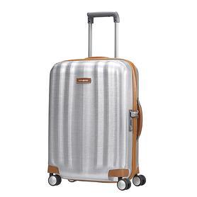 samsonite-lite-cube-dlx-55-cm-trolley-silber-4-rollen-kabinengepack