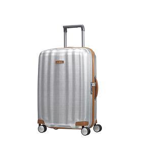 Samsonite Lite-Cube DLX, 55 cm, Trolley, silber, 4 Rollen, Kabinengepäck
