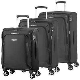 Samsonite X'Blade 3.0 Trolleys, schwarz, 4 Rollen