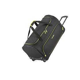travelite Basics, 36 cm, Reisetasche, 2 Rollen, schwarz, 2 Rollen