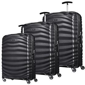 Samsonite Lite-Shock Trolleys schwarz 4 Rollen