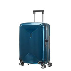 Samsonite Neopulse, 55 cm, Trolley, metallic blue, 4 Rollen, Kabinengepäck