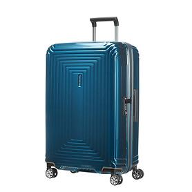 Samsonite Neopulse, 69 cm, Trolley, metallic blue, 4 Rollen