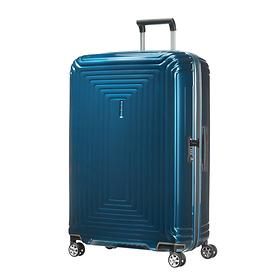 Samsonite Neopulse, 75 cm, Trolley, metallic blue, 4 Rollen