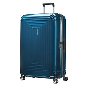 Samsonite Neopulse, 81 cm, Trolley, metallic blue, 4 Rollen