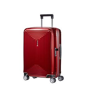 Samsonite Neopulse, 55 cm, Trolley, metallic red, 4 Rollen, Kabinengepäck