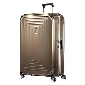 Samsonite Neopulse, 81 cm, Trolley, metallic sand, 4 Rollen